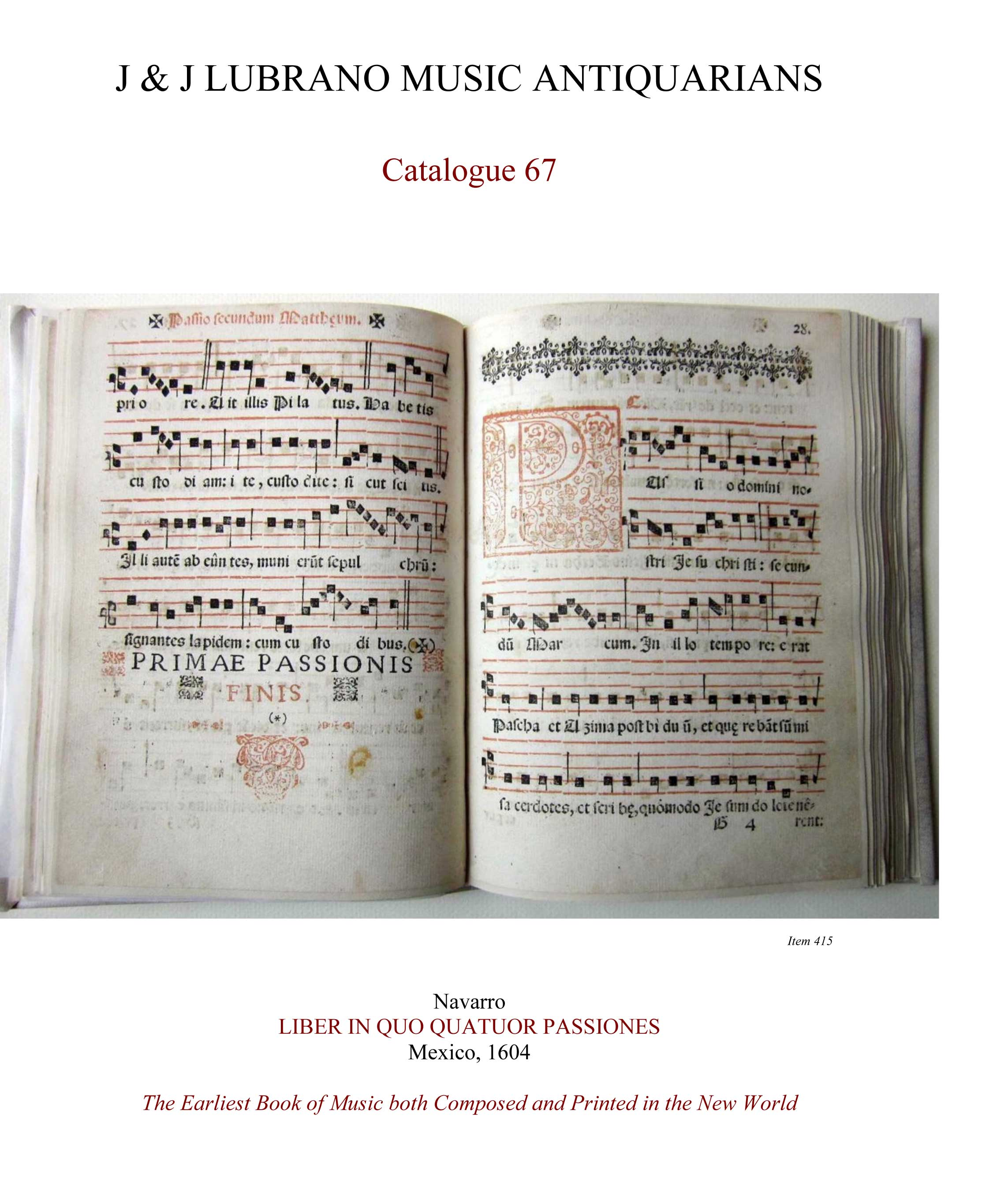 Catalogue 67