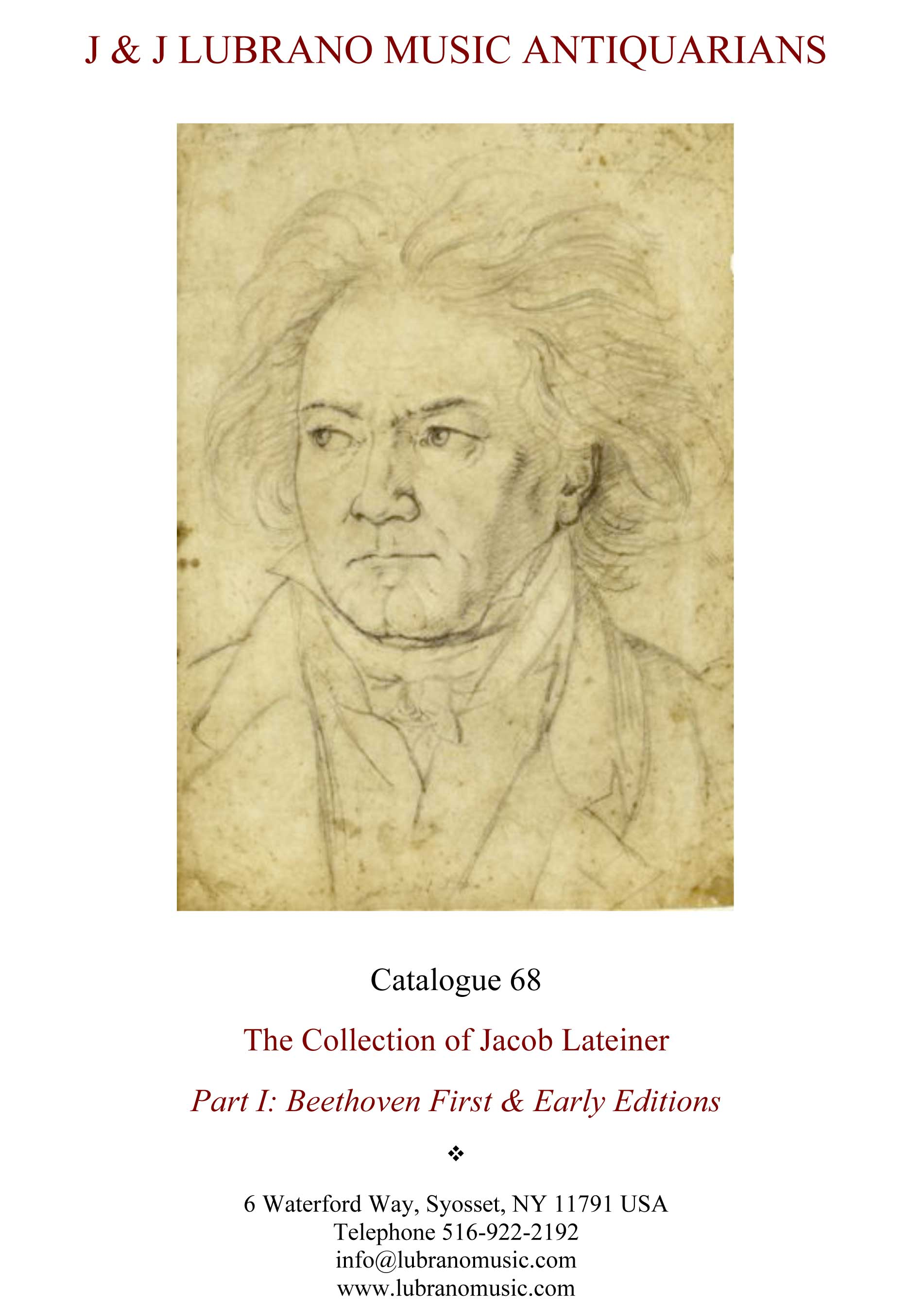 THE COLLECTION OF JACOB LATEINER - PART I