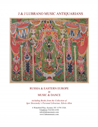 RUSSIA & EASTERN EUROPE in MUSIC & DANCE