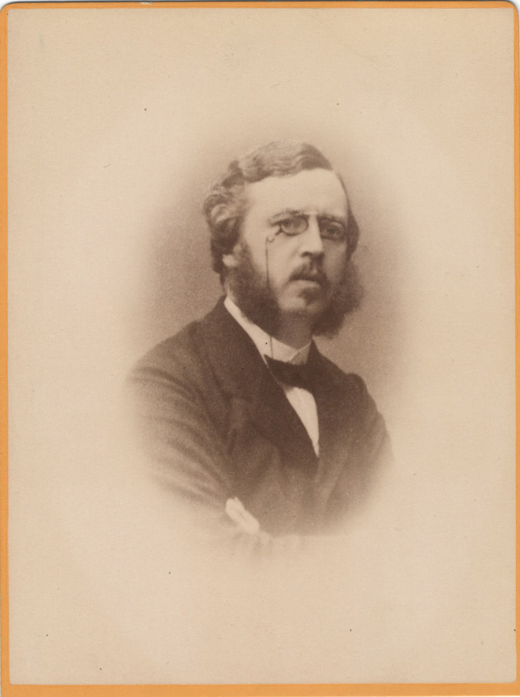 Cabinet card photograph of the Swedish musician and arts administrator. Eugène von STEDINGK.