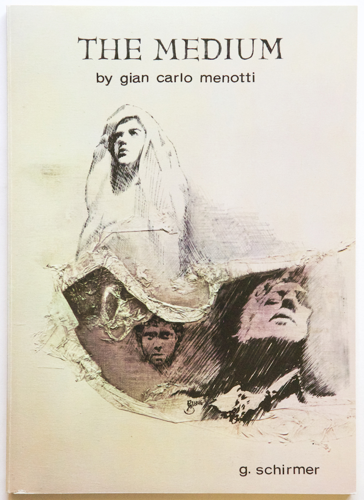 The Medium tragedy in two acts words and music by Gian-Carlo Menotti Revised Version. [Piano-vocal score]. Gian Carlo MENOTTI.