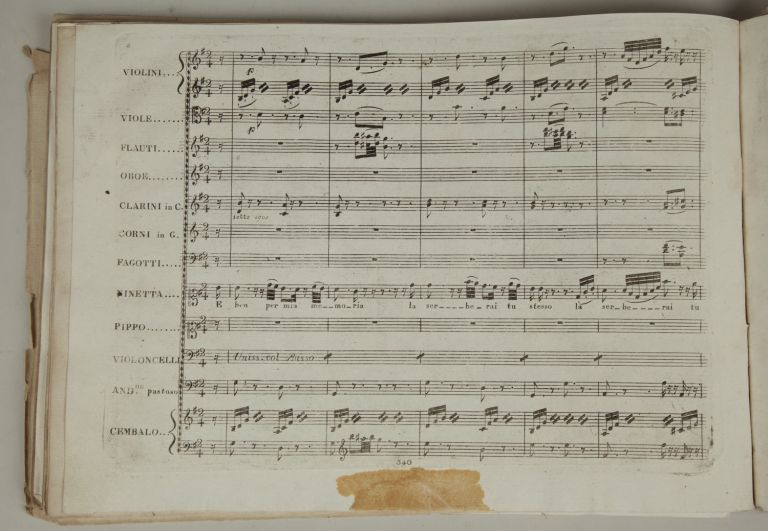 Collection of rare early editions. Gioachino ROSSINI.