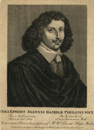 Portrait engraving. John GAMBLE.