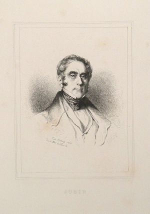 Portrait etching by Edmund Hédouin (1820-1889) after Paul Delaroche (1797-1856), bust-length....