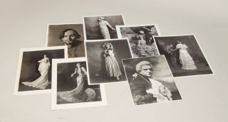 45 original vintage photographs of prominent early 20th-century singers by the noted New York photographer Herman Mishkin, official portraitist of the Metropolitan Opera from 1908-1932 and foremost portrayer of Golden Age opera singers. Together with 7 later reprints