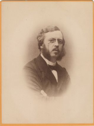 Cabinet card photograph of the Swedish musician and arts administrator. Eugène von STEDINGK