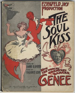 "The Soul Kiss with the World's Greatest Dancer ""Genee."" Book by Harry B. Maurice LEVI"