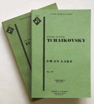 [Op. 20]. Swan Lake. [Orchestral study score]. Peter Ilyich TCHAIKOVSKY.
