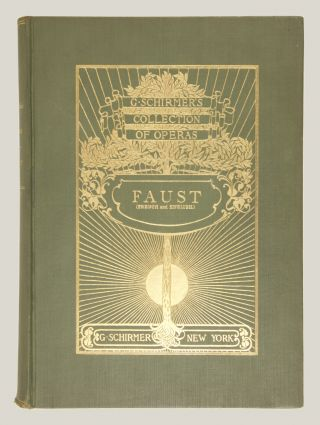 Faust A Lyric Drama in Five Acts Libretto by J. Barbier and M. Carré... Vocal Score (Containing the Complete Ballet-Music) by Léo Delibes The English Version by H. T. Chorley Revised and Completed by Dr. Th. Baker With an Essay on the Story of the Opera by H. E. Krehbiel... G. Schirmer's Collection of Operas. [Piano-vocal score].