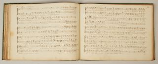 Recuil d'ariettes choisies. Late 18th century manuscript collection