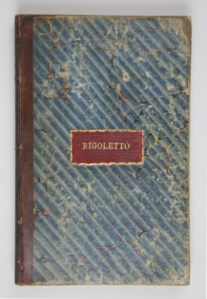 Rigoletto... Prix 12F. Net. [Piano-vocal score]