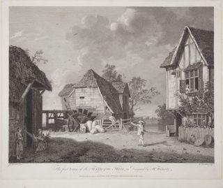 The first Scene of the Maid of the Mill, as Designed by Mr. Richards. Fine large engraving by...