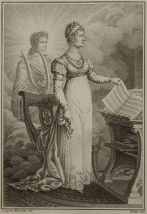 Fine full-length stipple engraving by Rados after Sergent Marceau of the popular early 19th...