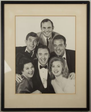 Photograph of Marilyn Horne with Jim Nabors, Andy Griffith, Shirley Jones, Tennessee Ernie....