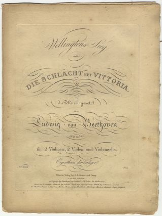 Op. 91, arr.]. Wellingtons-Sieg [Parts]. Ludwig van BEETHOVEN