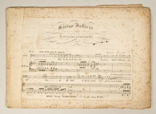 Collection of 4 opera excerpts in piano-vocal score