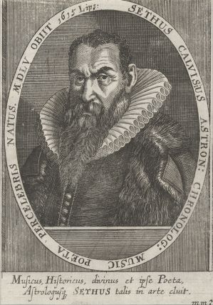Portrait engraving by Melchior Haffner, bust-length