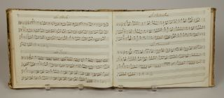 Musical manuscript containing operatic arias, vocal works, works for voice and keyboard and for solo keyboard, ca. 1830-40