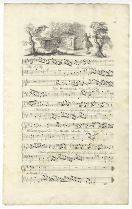 Myrtillo, Or the Despairing Swain. To the Rt. Honble. the Lord Delawar, this Cantata is most humbly inscrib'd. Plates 25-28 from George Bickham's The Musical Entertainer.