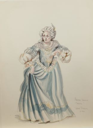 Collection of 102 original set and costume designs for 20th century productions of theatrical, musical, and operatic works by this award-winning American artist. Ca. 1980s